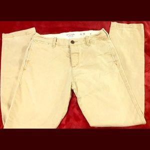 Men's Abercrombie khakis size 30x30